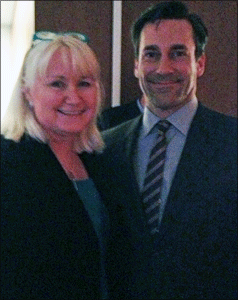 Jon Hamm and Megan