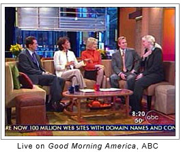 Live on Good Morning America, ABC